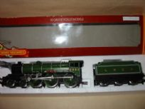 "Hornby Railways LNER  ""Manchester United"" locomotive"
